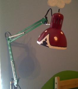Turn a $10 IKEA Lamp into a Super Mario Piranha Plant