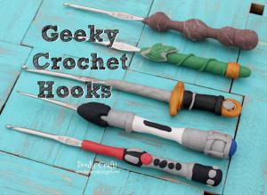 DIY Geeky Crochet Hooks