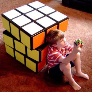 DIY Rubiks Cube Dresser