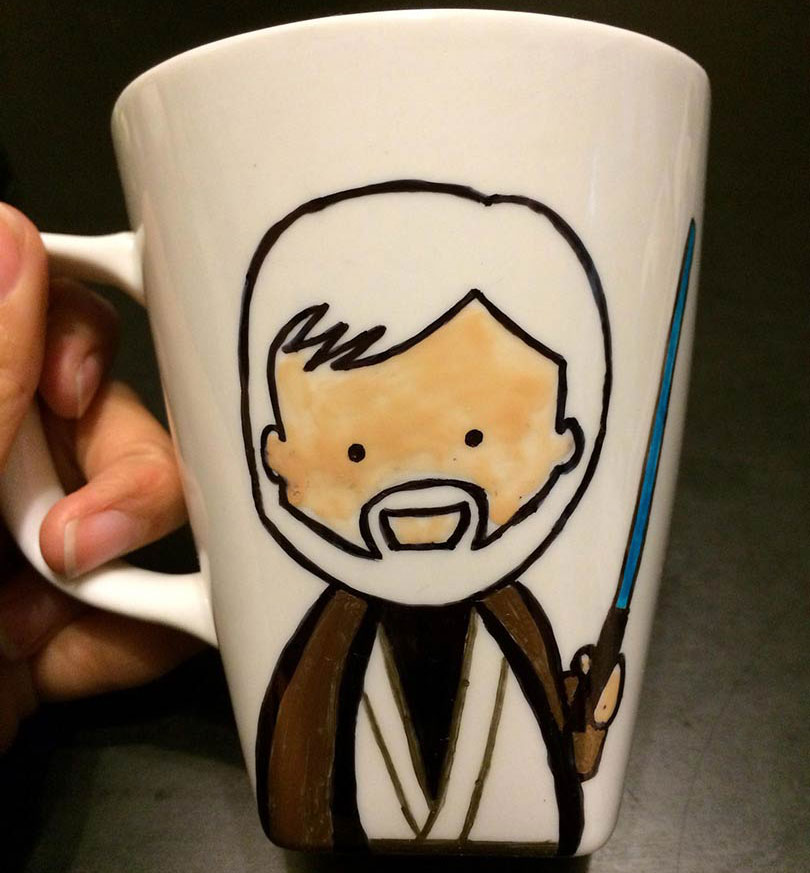 DIY Star Wars Mug / Sharpie Mug